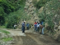 Men working on road to Mimbres
